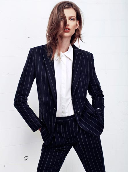 Fashionoffice: Diplomatic experiments with men's pinstripe suits ...